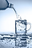 Water pouring Royalty Free Stock Photography