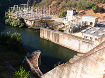 Water power plant Stock Photo