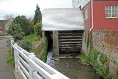 Water powered corn mill Stock Photos