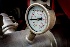 Water pressure gage. Image of Water pressure gage royalty free stock image