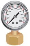 Water Pressure Gauge Royalty Free Stock Images