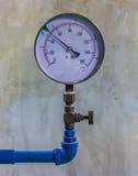 Water pressure gauge meter Stock Photography