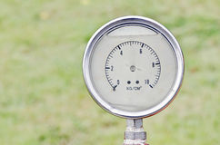 Water pressure meter Royalty Free Stock Photography