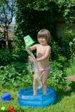 Water procedures Stock Photo
