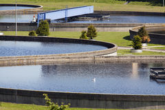 Water processing plant Royalty Free Stock Photos