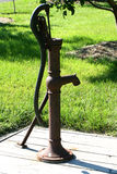Water pump. Old fashioned water pump royalty free stock photos