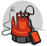 Water pump appliance Stock Images