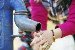 Water pump. Royalty Free Stock Image