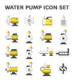 Water pump icon Royalty Free Stock Photos