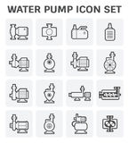 Water Pump Icon Stock Photography