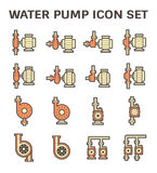 Water pump icon Stock Image