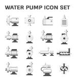 Water pump icon Stock Photo