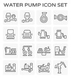Water pump icon Stock Images