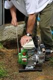Water pump for irrigation Stock Image