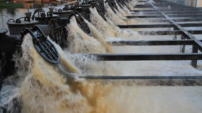 Water pump machinery stock video