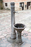 Water pump in the old medieval town of Kotor Stock Photo