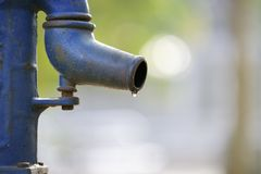 Water pump. Stock Images