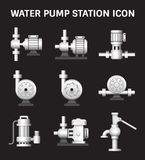 Water Pump Station Stock Photo