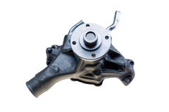 Water pump on white Stock Image