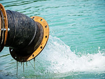 Water pumpar royaltyfri foto