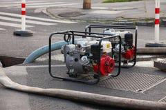 Water Pumping stock photo