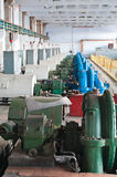 Water pumping station Royalty Free Stock Photos