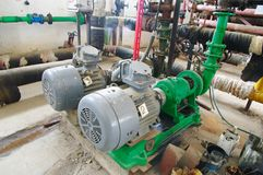 Water pumping station, Stock Photos