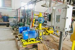 Water pumping station, Stock Photography