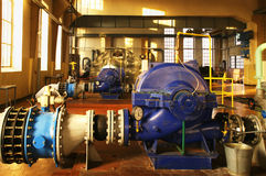 Water pumping station Stock Image