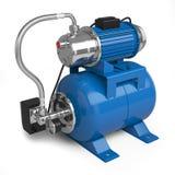 Water pumping station royalty free illustration