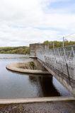 Water pumping station at tittesworth resevoir Stock Images