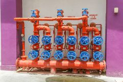 Water pumping station Stock Photos