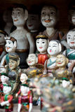 Water puppet dolls, Hanoi, Vietnam Stock Photo