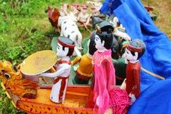 Water puppets. The Water puppets,Water puppets Stock Photo