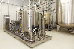 Water purification equipment on the Solopharm plant Royalty Free Stock Photo