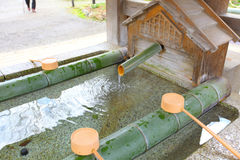 Water purification Royalty Free Stock Image