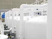 Water Purification Plant Stock Images