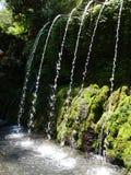 Water for purification ritual in Pura Tirta Sudamala, Bangli, Bali Royalty Free Stock Photography