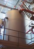 Water purification system. Water purification system on the facility Stock Photos