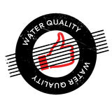 Water Quality rubber stamp Stock Photos