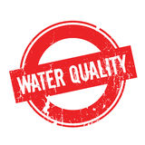 Water Quality rubber stamp Royalty Free Stock Photos