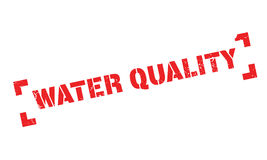 Water Quality rubber stamp Stock Images