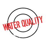 Water Quality rubber stamp Royalty Free Stock Photography