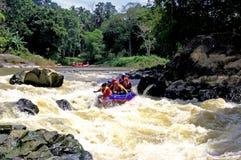Water Rafting Stock Image