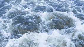 Water rages Stock Image