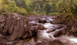 Water Rapids Highlands Scotland Royalty Free Stock Photo