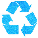 Water recycling. Recycling and keeping water pure and clean Stock Photos