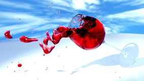 Water, Red, Sky, Close Up Royalty Free Stock Photography