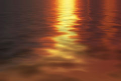 Water reflect the sun for background Stock Images