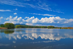 Water reflection Stock Photography